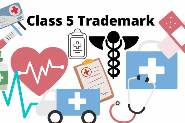 What is TRADEMARK CLASS 5