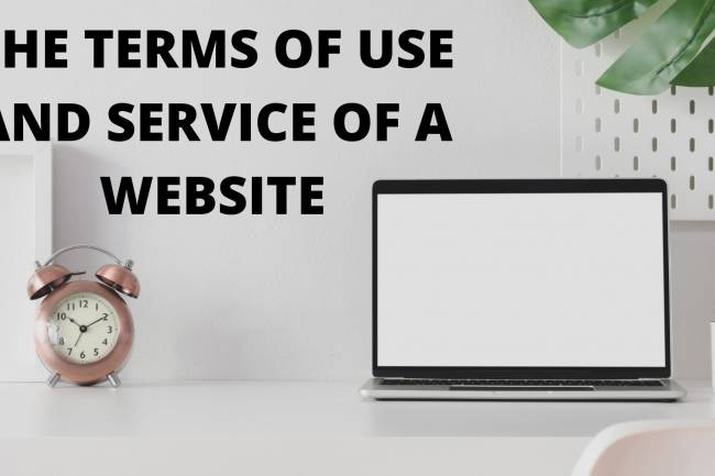 WHETHER THE TERMS OF USE AND SERVICE OF A WEBSITE ARE ENFORCEABLE AS A CONTRACT?
