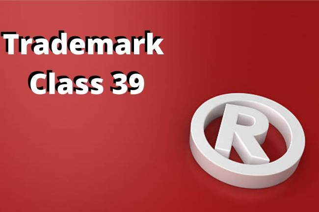 TRADEMARK CLASS THIRTY-NINE