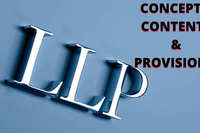 WHAT IS THE LLP? CONTENTS, PROVISIONS AND CONCEPTS