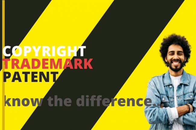 IPR in India - Difference between Copyright, Patent and Trademark