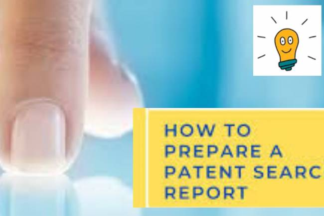 How to prepare a Patent Search Report