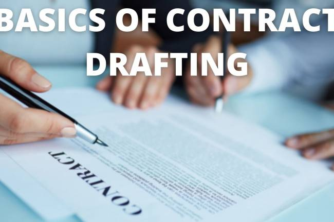 Basics of Contract Drafting