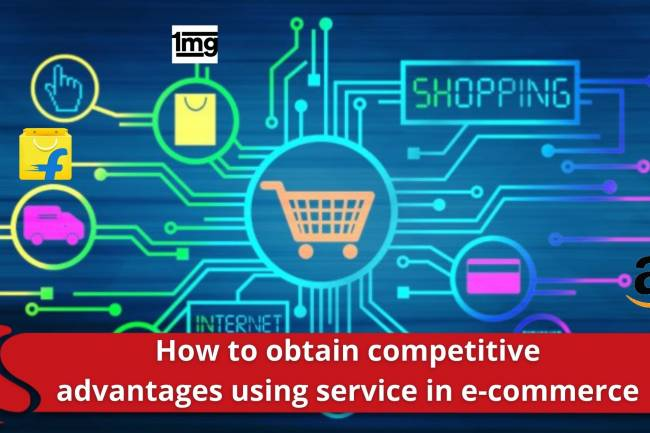 How to obtain competitive advantages using service in e-commerce