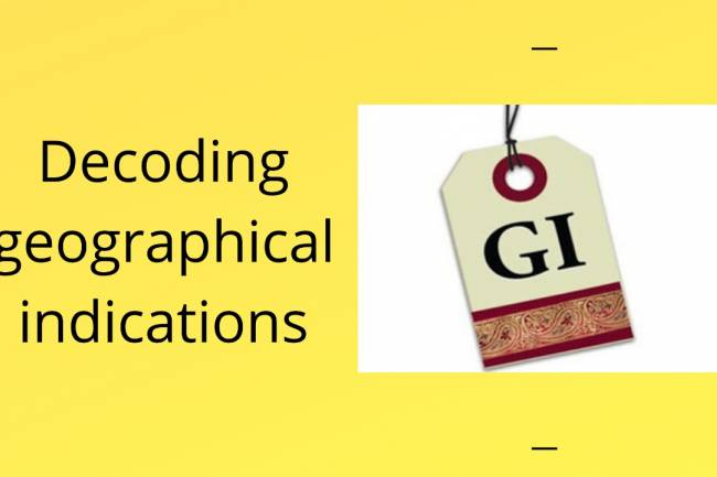 DECODING GEOGRAPHICAL INDICATIONS