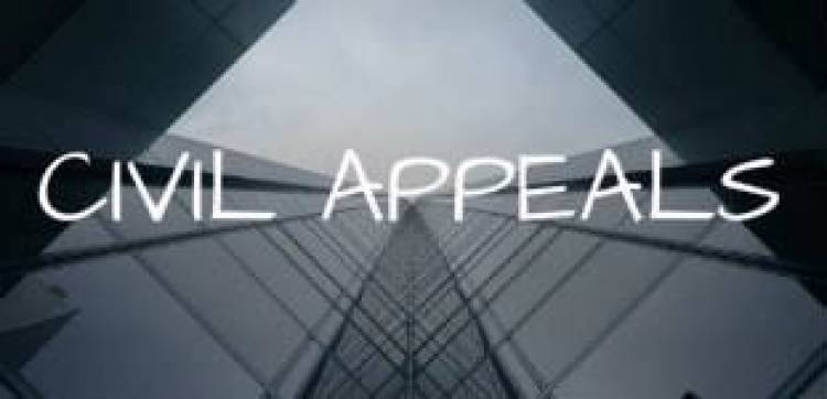 APPEAL IN THE COURT OF THE DISTRICT JUDGE AT AJMER Civil Appellate Jurisdiction In Civil Appeal No. ____of 2020