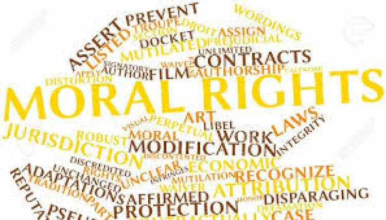 MORAL RIGHTS IN A COPYRIGHT